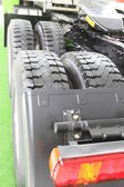 Vehicle tyre — Stock Photo