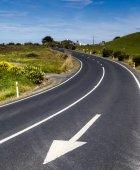Nya Zeeland freeway — Stockfoto