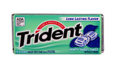 Trident Mint chewing gum — Stock Photo