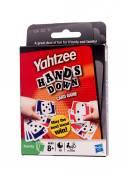 Yahtzee card game — Stock Photo