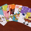 Постер, плакат: SpongeBob SquarePants playing cards