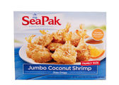 Coconut shrimp — Stock Photo