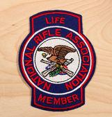 National Rifle Association patch — Stock Photo