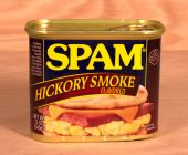 Spam lunch meat — Stock Photo