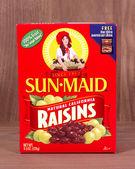 Sun-Maid raisins — Stock Photo