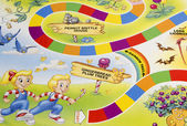 Candy Land game board — Stock Photo