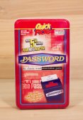 Password game tin — Stock Photo
