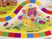 Candy Land game board. — Stock Photo