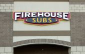 Firehouse Subs storefront — Stock Photo