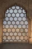 Honeycomb Window Pattern — Stock Photo