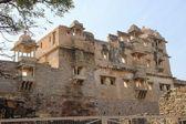 Frontage of Rana Kumbh Palace — Stock Photo