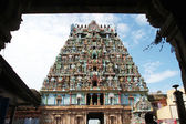 Jambukeshwara Temple Tower — Stock Photo