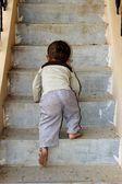 Infantile Attempt at Ascent — Stock Photo