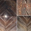 Set of wood textures — Stock Photo #70082035