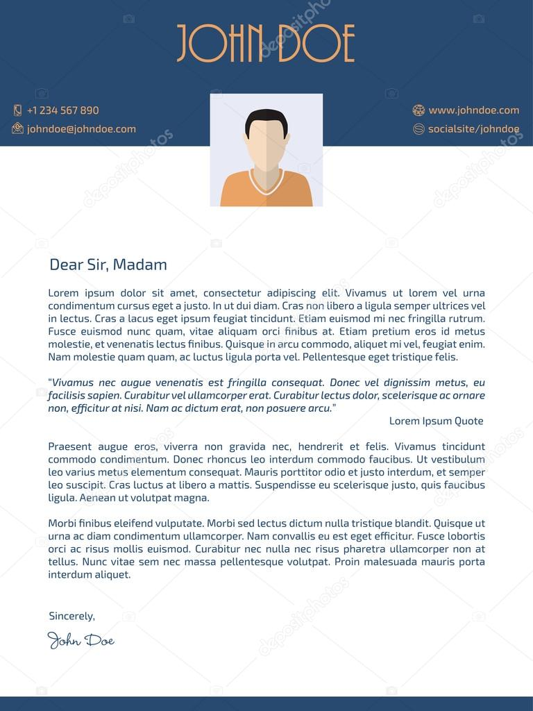T Style Cover Letter Format