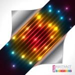 Abstract rainbow plasma laser brochure design — Stock Vector #76458845