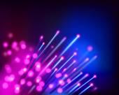 Optical fibers. Vector illustration. — Stock Vector