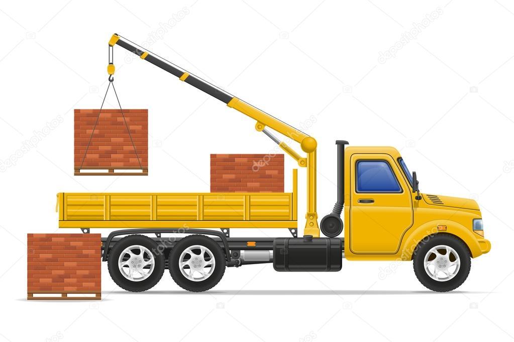 Livraison de camion de fret et le transport de mat riaux de construction im - Livraison materiaux de construction ...