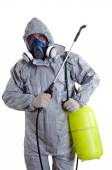 PEST CONTROL WORKER — Stock Photo
