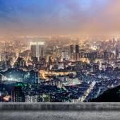 Taipei city night — Stock Photo