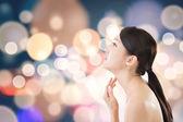 Asian beauty face — Stock Photo