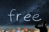 Concept of free — Stock Photo