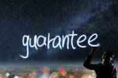 Concept of guarantee — Stock Photo