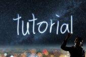 Concept of tutorial — Stock Photo