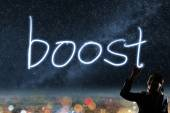 Concept of boost — Stock Photo