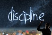 Concept of discipline — Stock Photo