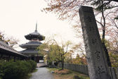 Ruins of the palace in Yoshino — Stock Photo