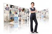 бизнес концепции стены — Стоковое фото