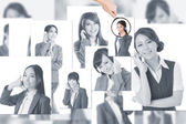 Concept of human resources — Stock Photo
