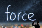 Concept of force — Stock Photo