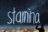 Concept of stamina — Stockfoto