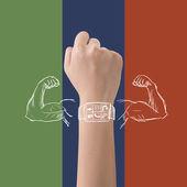 Smart watch powe — Foto Stock