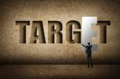 Concept of target — Stock Photo