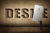 Concept of desire — Foto de Stock