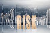 Koncept rizika — Stock fotografie
