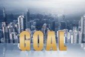 Concept of goal — Stock Photo