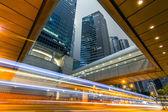 Noite de cidade moderna — Fotografia Stock