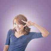 Adorable Asian girl — Stock Photo