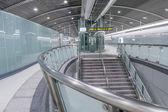 New open Songshan MRT station — Stock Photo