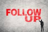 Follow Up — Stockfoto
