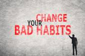 Change Your Bad Habits — Stock Photo