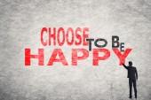 Rozhodnou se být šťastný — Stock fotografie