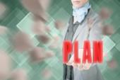 Concept of plan — Stock Photo