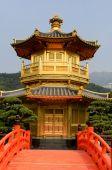Red pagoda — Stock Photo