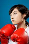 Walki kobieta — Zdjęcie stockowe