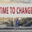Time to change — Stock Photo #72061063